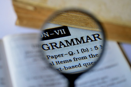 sample thesis in english grammar